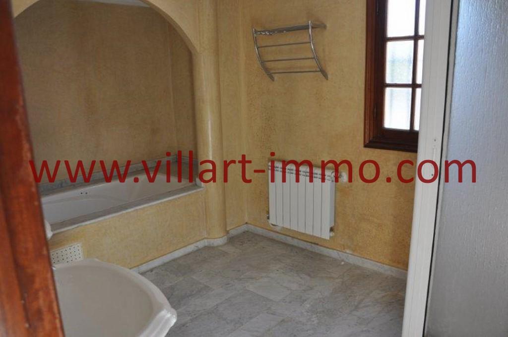 9-Location-villa-Tanger-non meublée-Boubana-Salle de bain-LV152