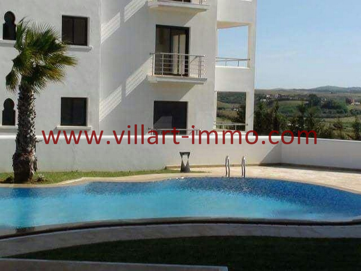 9-Vente-Appartement-Assilah-Piscine -VA520-Villart Immo