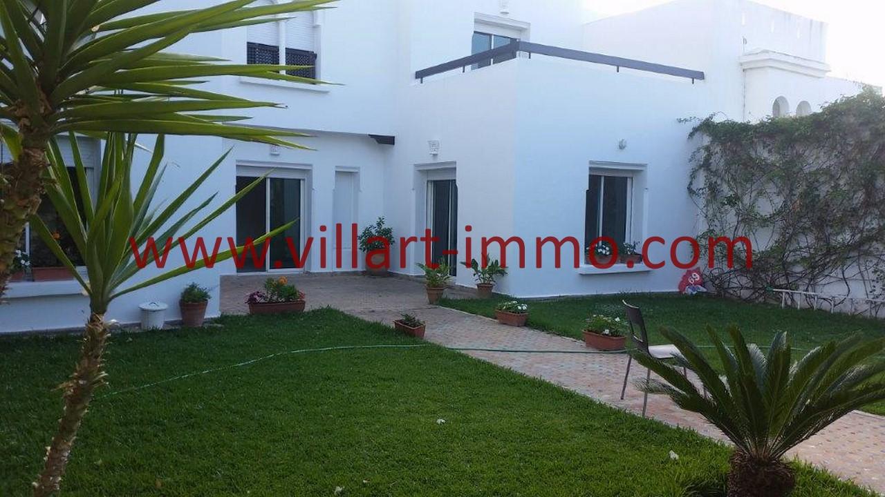 2-A louer-Tanger-Villa-Non meublée-Malabata-LV1078