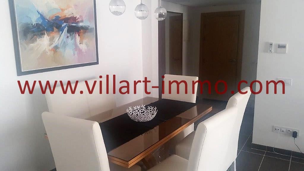 3-Location-Appartement-Tanger-Centre ville-Salle à manger-L1074