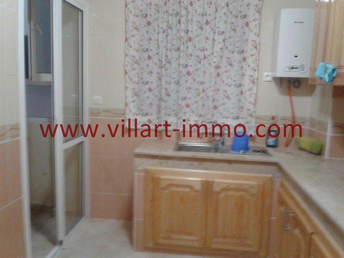 5-Vente-Appartement-Tanger-Cuisine -VA524-Route de Rabat-Villart Immo