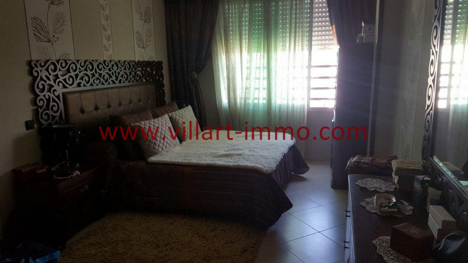 6-Vente-Appartement-Tanger-Chambre 2-VA523-Centre ville -Villart Immo