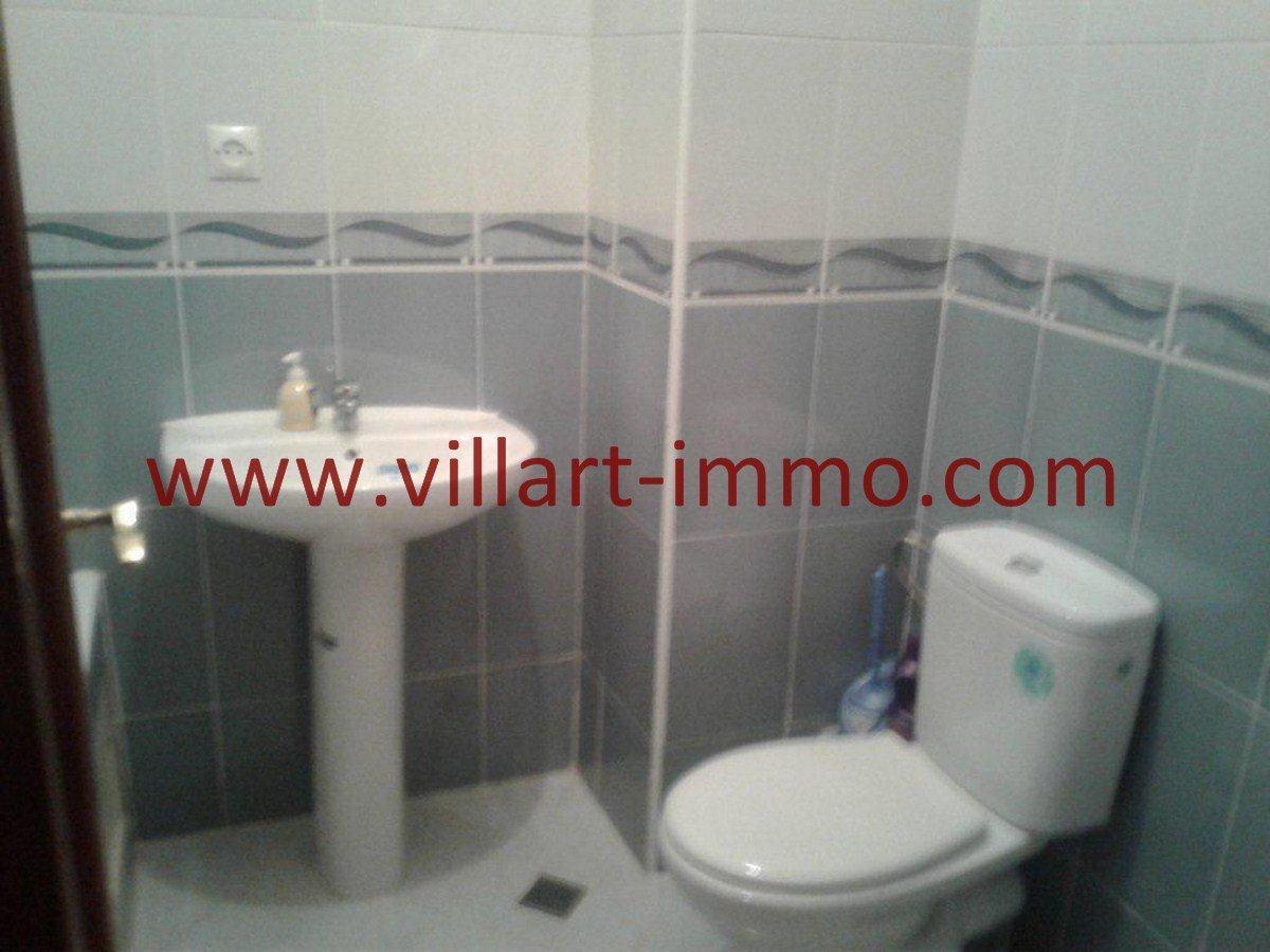 6-Vente-Appartement-Tanger-Salle de bain-VA524-Route de Rabat-Villart Immo
