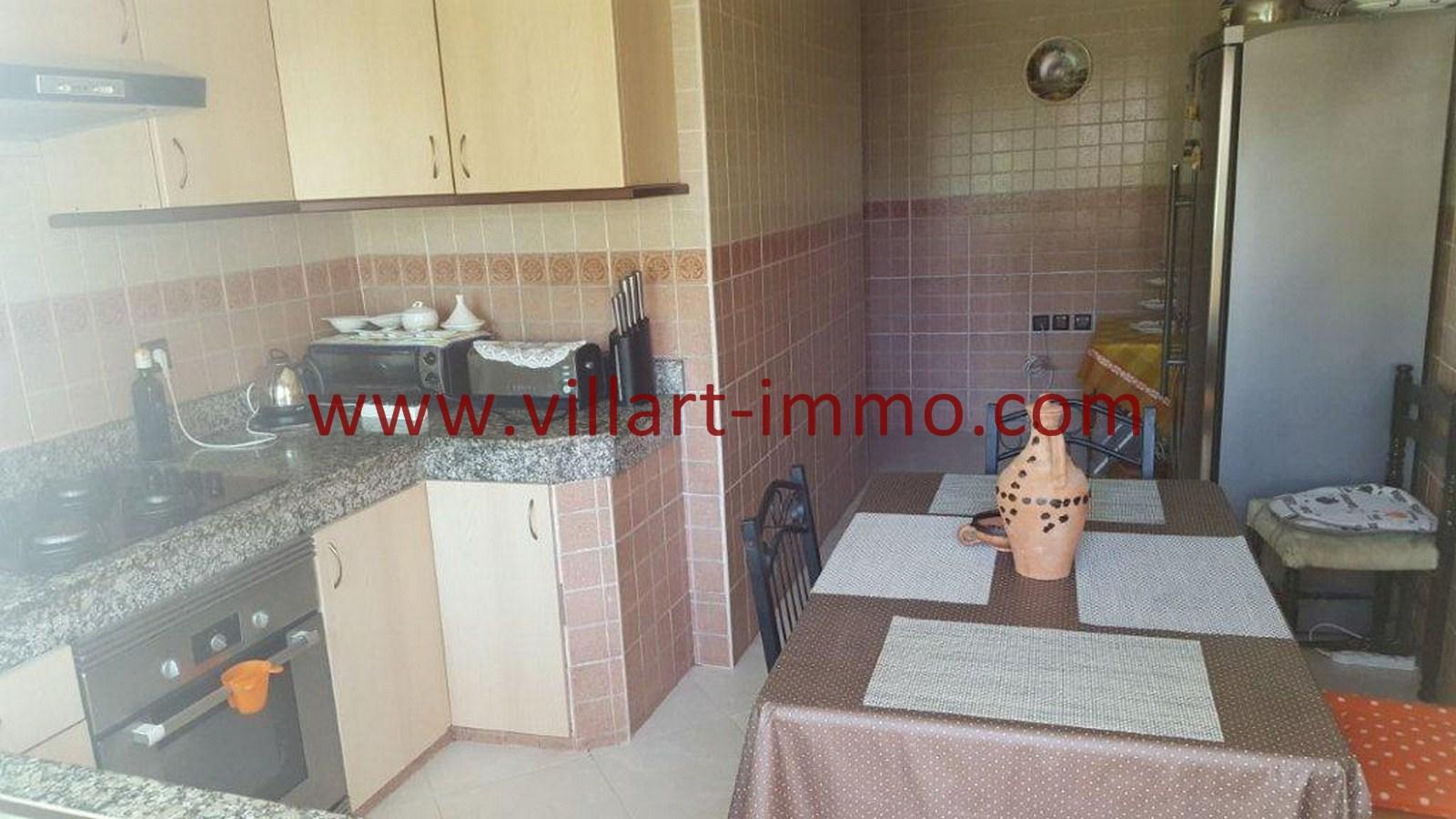 7-Vente-Appartement-Tanger-Cuisine -VA523-Centre ville -Villart Immo