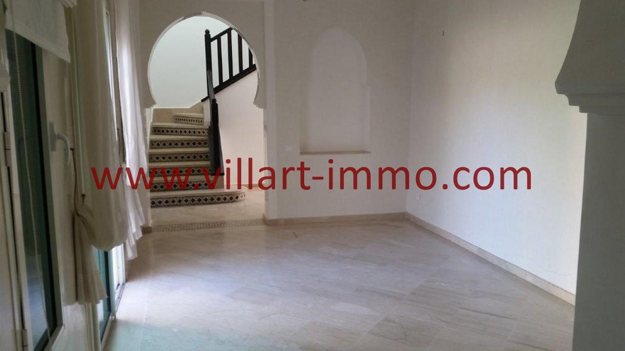 8-A louer-Tanger-Villa-Non meublée-Malabata-Salle à manger-LV1078