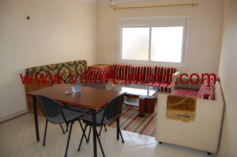 1- A louer- Appartement-Meublé-Tanger-Salon-L1080-Villart immo