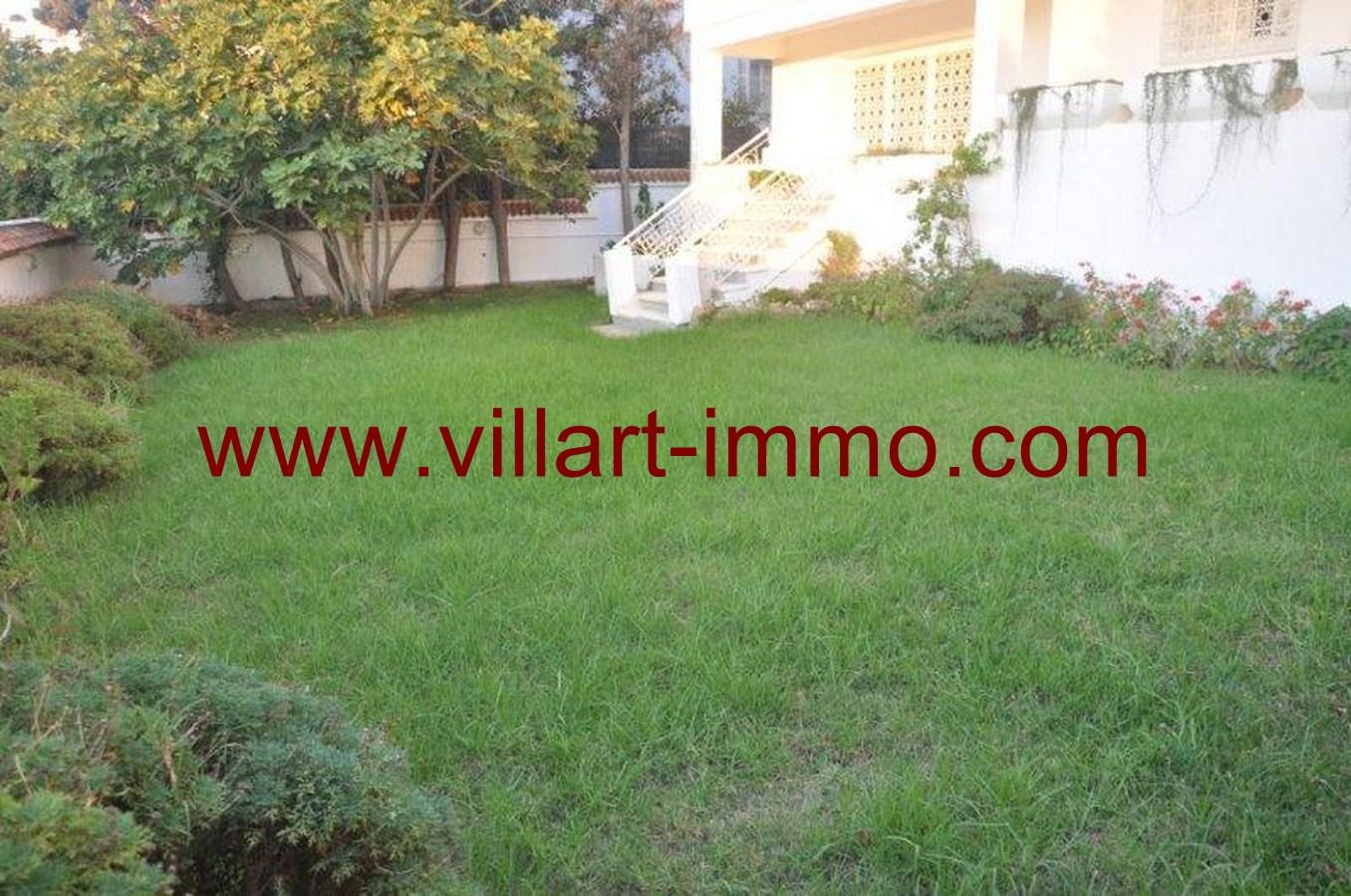 1-Location-Villa-Meublé-Malabata-Jardin-Villart immo-Tanger-LV126