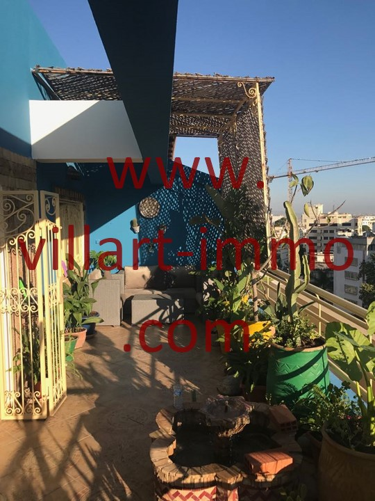 10-Location -Appartement-Tanger-Meublé-Ibéria-Terrasse-L1098