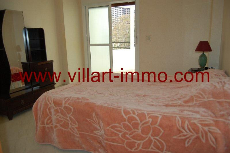 3- A louer- Appartement-Meublé-Tanger-Chambre 1-L1080-Villart immo