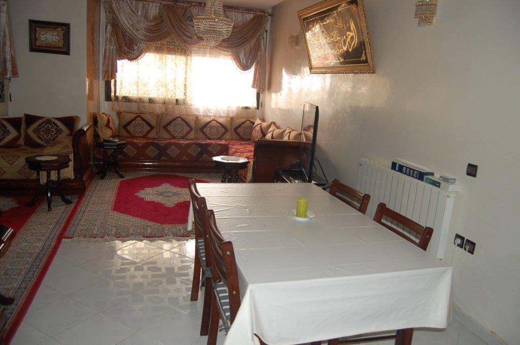 3-Location-Appartement-Meublé-F3-Courte durée-Salle à mang-Agence immobiliere-Tanger-LSAT1083