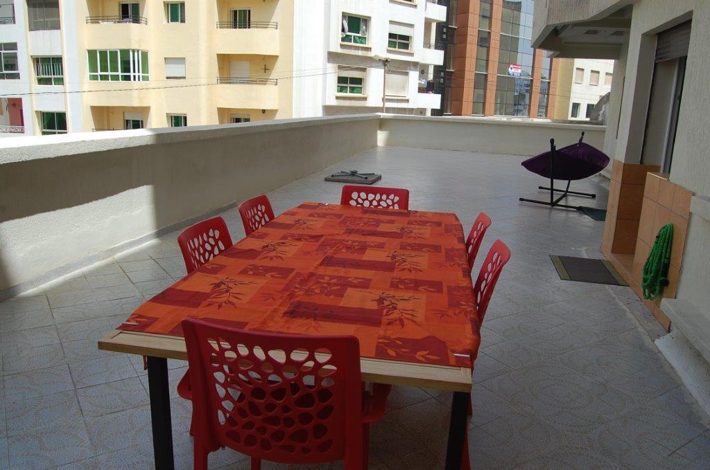 4-Location-Appartement-Meublé-F3-Courte durée-Tarrasse-Agence immobiliere-Tanger-LSAT1083