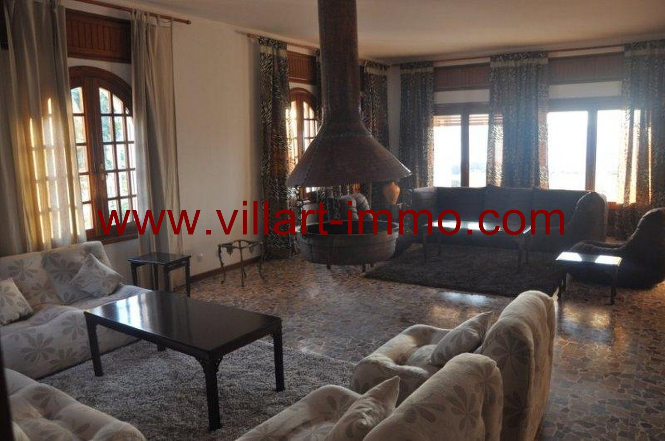 5-Location-Villa-Meublé-Malabata-Jardin-Villart immo-Tanger-LV126