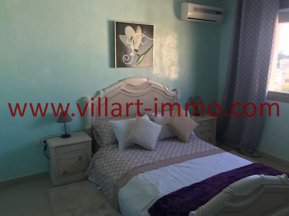7-Location -Appartement-Tanger-Meublé-Ibéria-Chambre 2-L1084