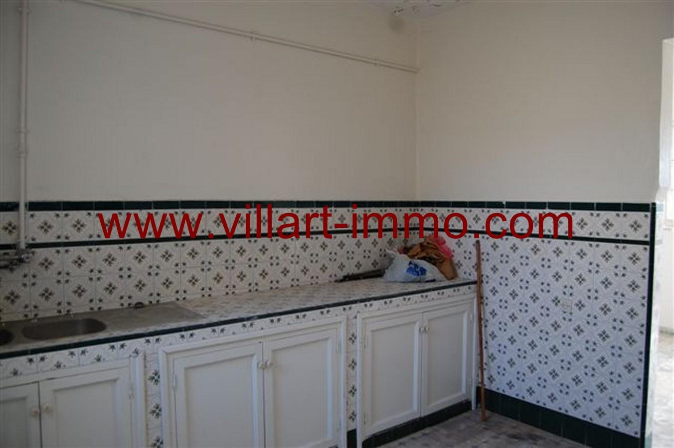 7-Vente-Appartement-Tanger-Cuisine -VA532-Jirari-Villart Immo