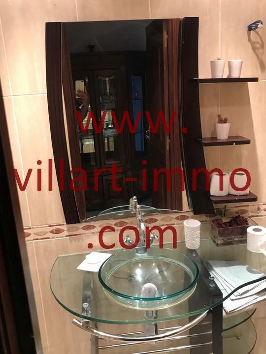 8-Location -Appartement-Tanger-Meublé-Ibéria-Salle de bain 2-L1098