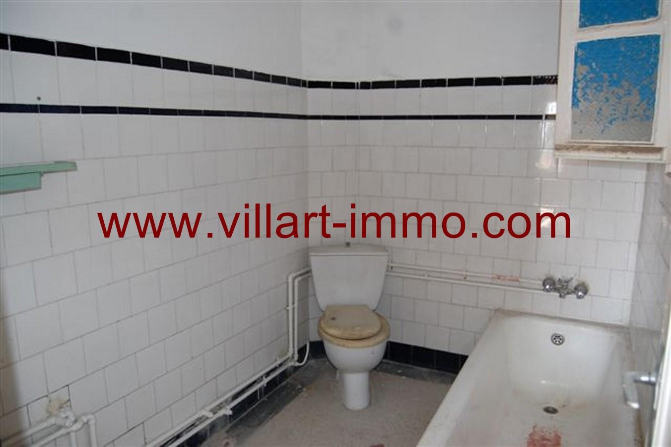 8-Vente-Appartement-Tanger-Salle de bain -VA532-Jirari-Villart Immo