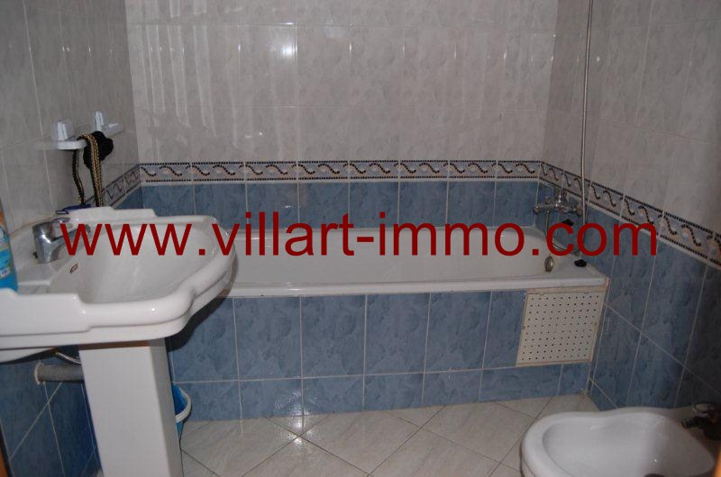 9-A louer-Appartement-Meublé-Tanger-Salle de bain-L1080-Villart immo