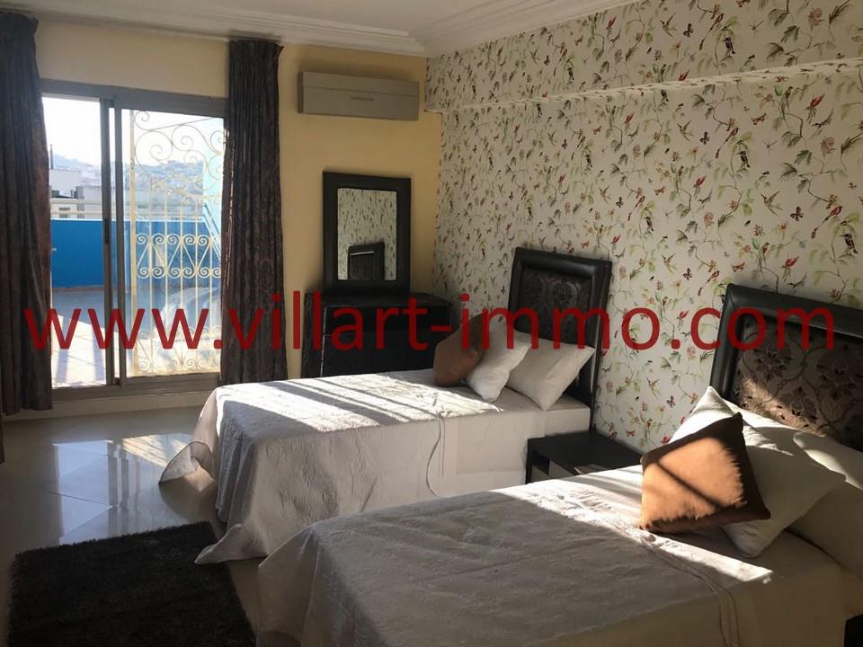 9-Location -Appartement-Tanger-Meublé-Ibéria-Chambre 3-L1098