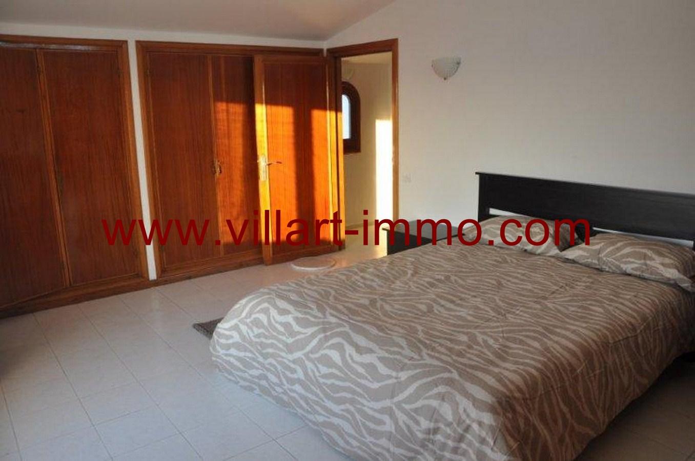 9-Location-Villa-Meublé-Malabata-Chambre 1-Villart immo-Tanger-LV126
