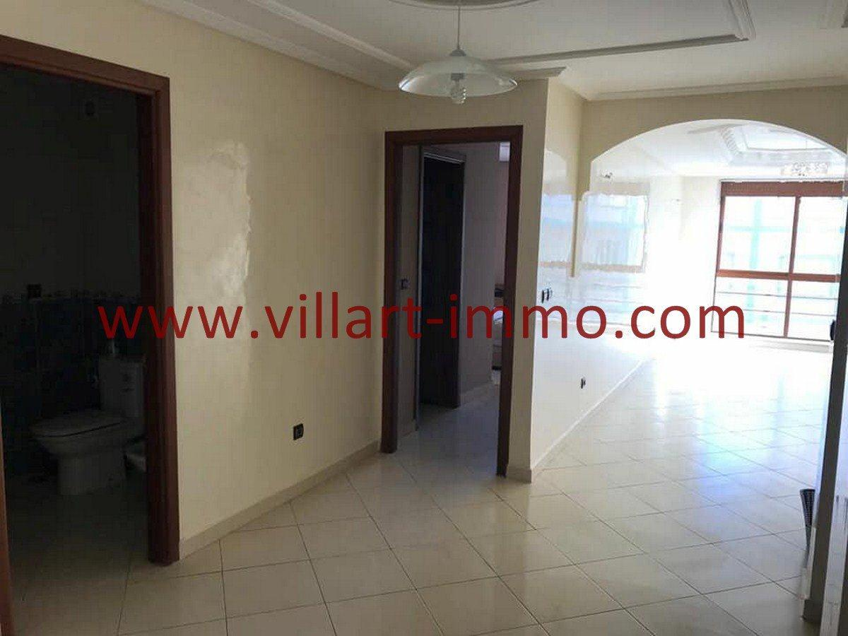 2-Vente-Appartement-Tanger-Entrée-VA534-Villart Immo