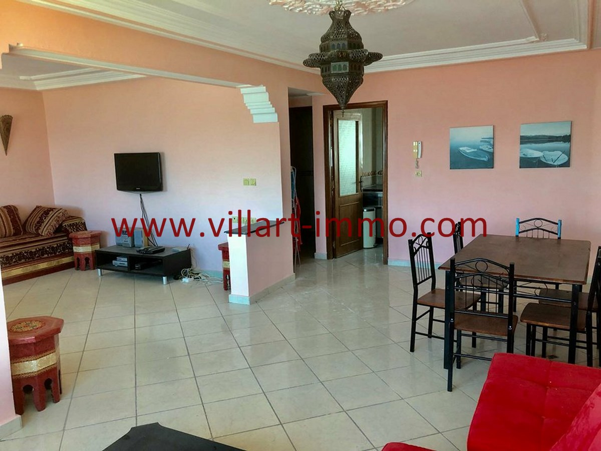 4-Vente-Appartement-Tanger-Centre Ville-Séjour-VA539-Villart Immo