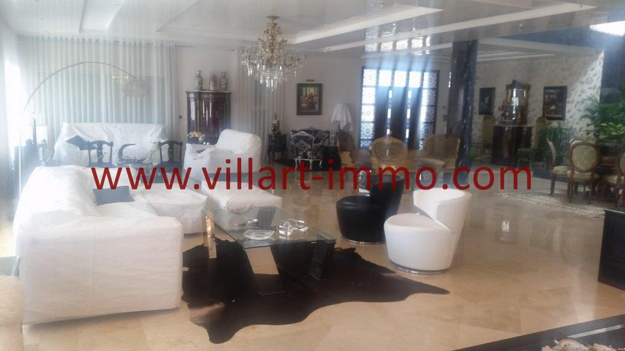 1-Location-Villa-Meublée-Tanger-Tanja Balia-Salon-LV1092