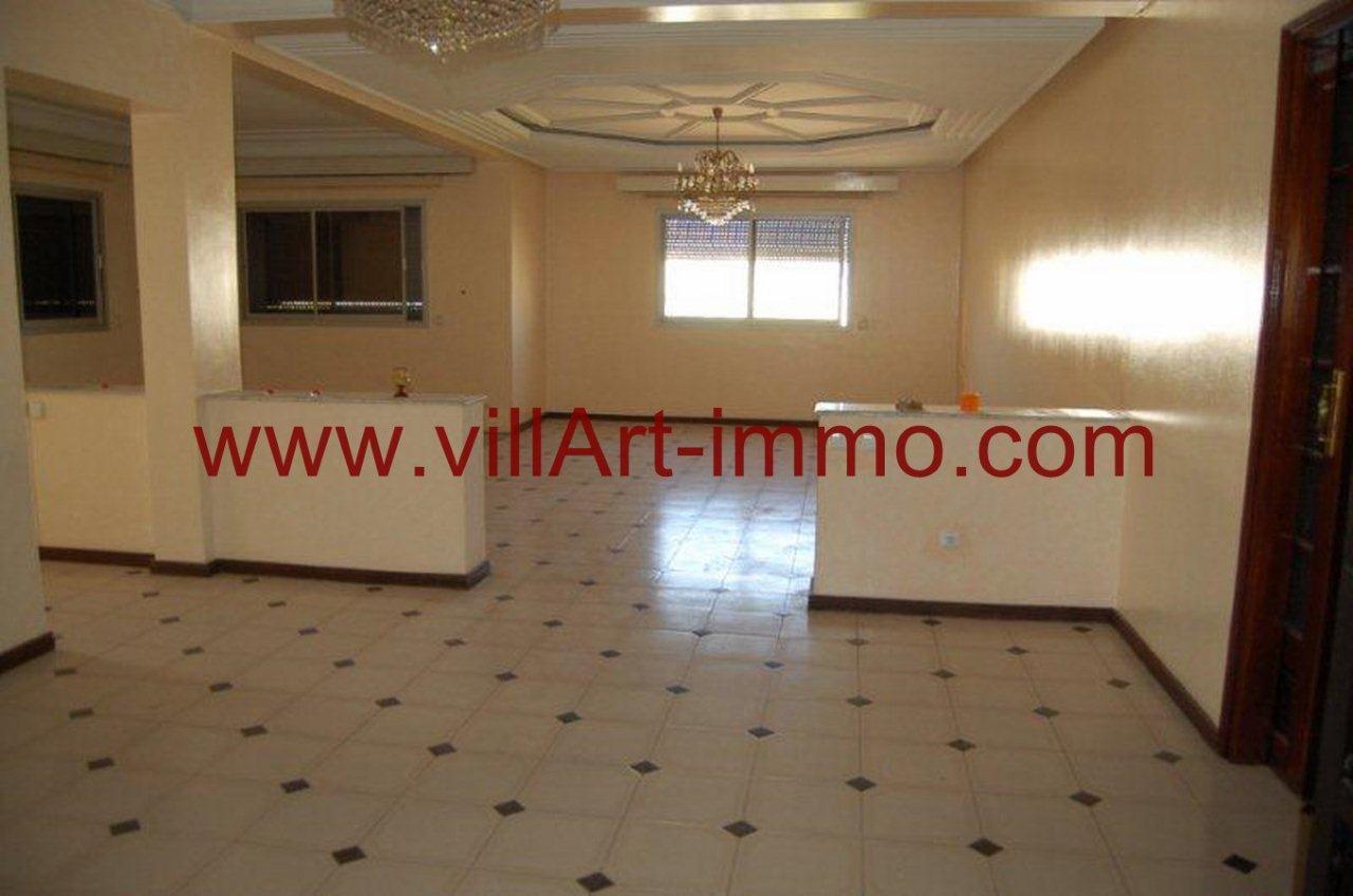 1-Vente-Appartement-Centre Ville-Tanger-Séjour-VA542-Villart Immo