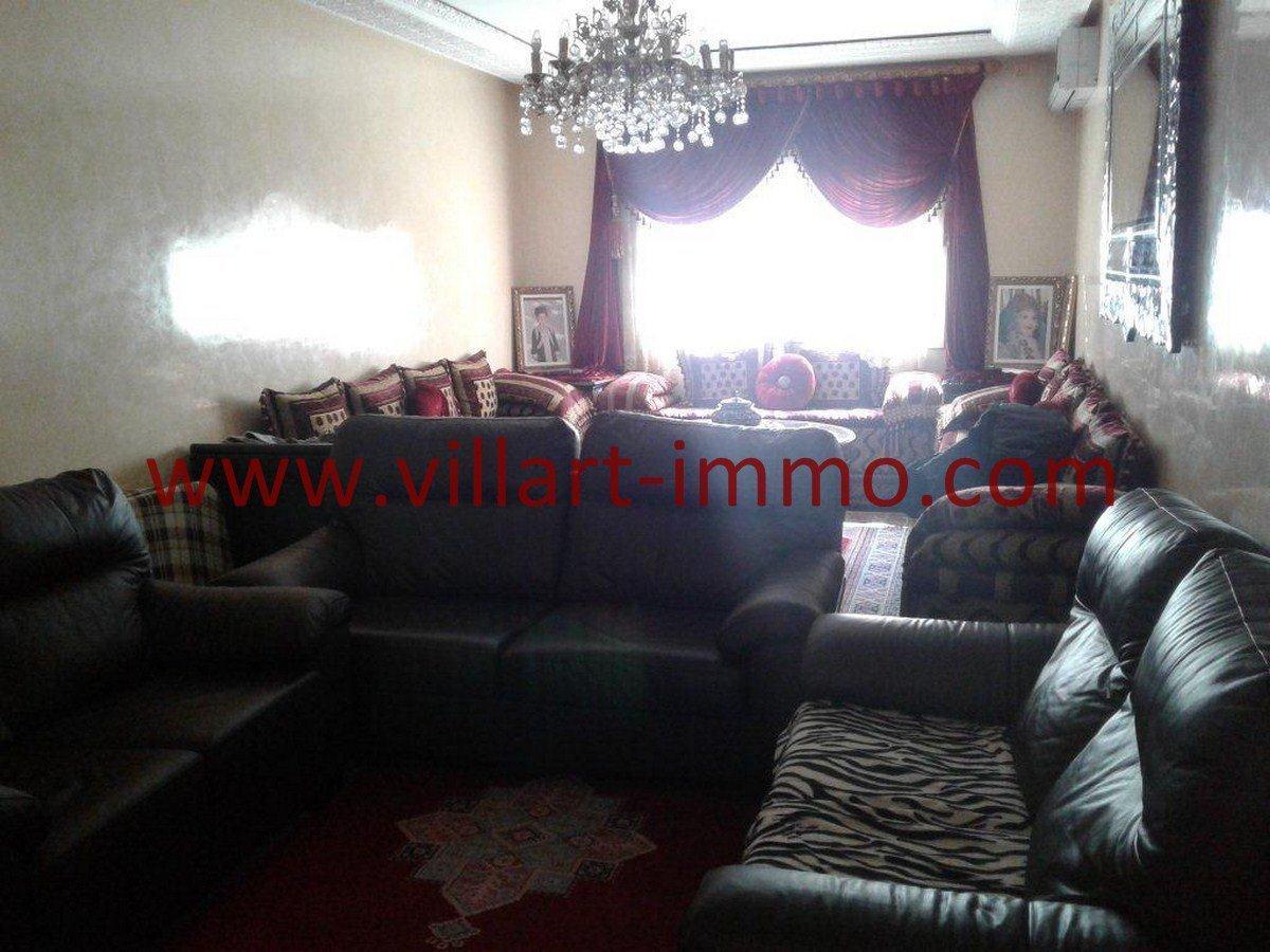 1-Vente-Appartement-Centre Ville-Tanger-Séjour-VA544-Villart Immo
