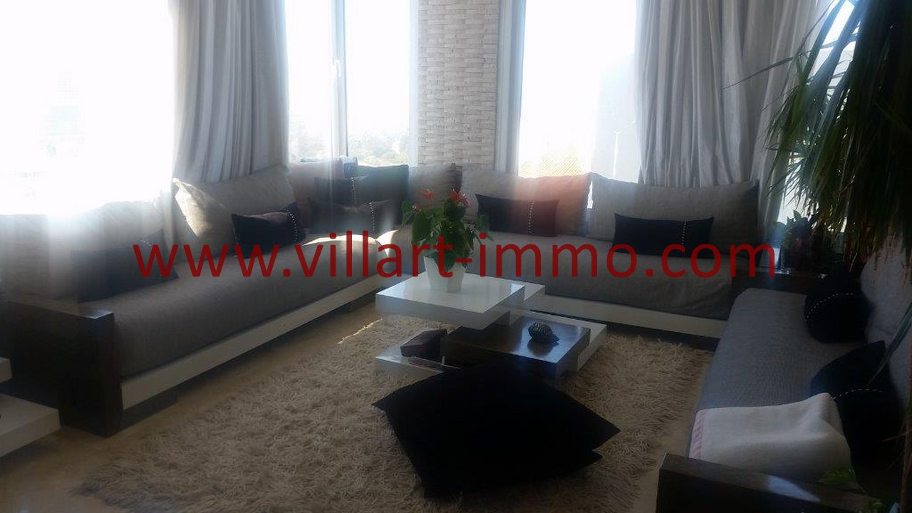 13-Location-Villa-Meublée-Tanger-Tanja Balia-Salon-LV1092