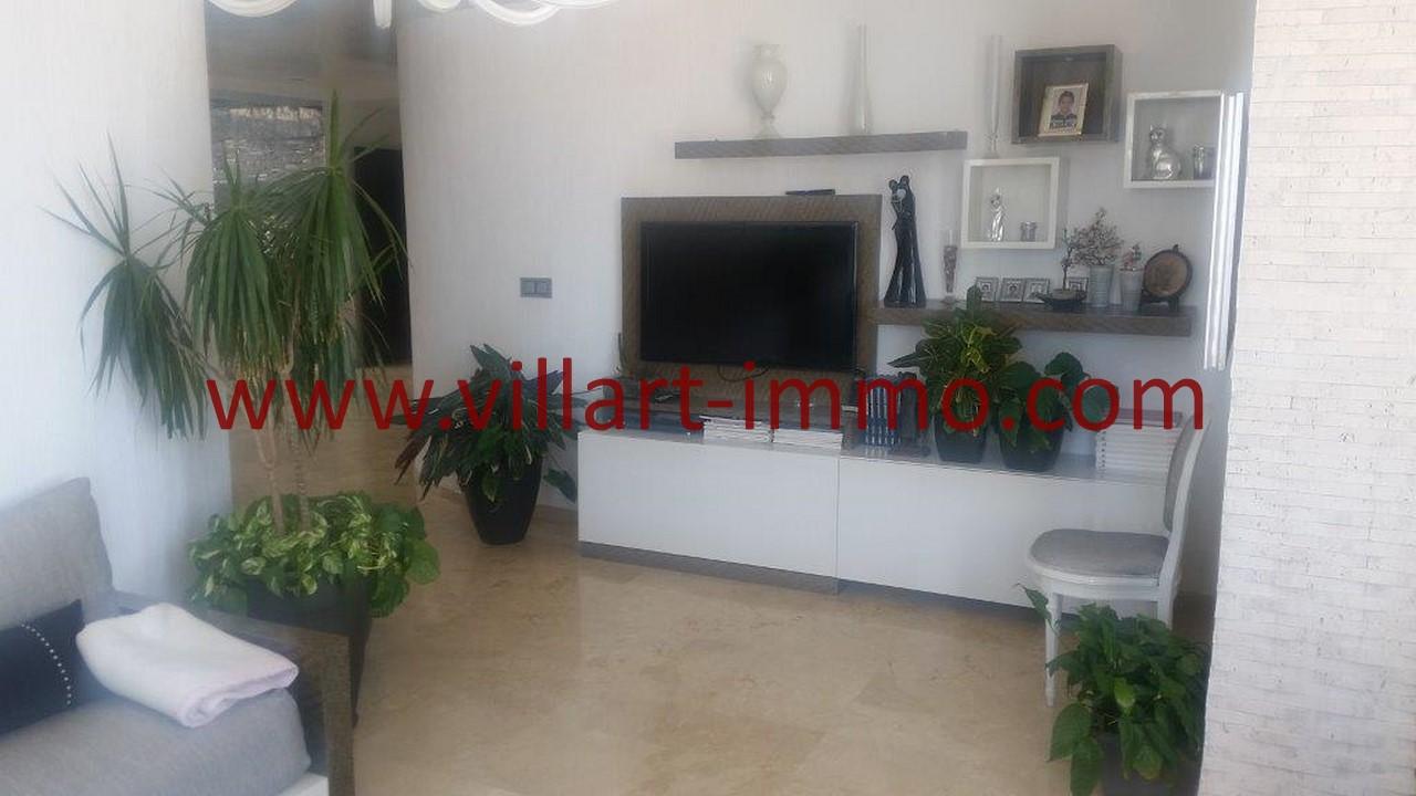 14-Location-Villa-Meublée-Tanger-Tanja Balia-Cheminée-LV1092