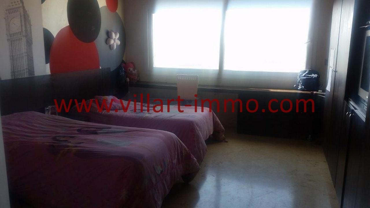 17-Location-Villa-Meublée-Tanger-Tanja Balia-Chambre à coucher-LV1092
