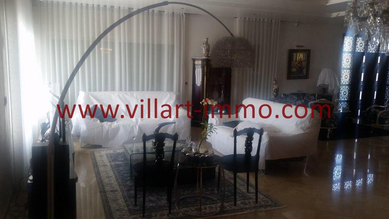 2-Location-Villa-Meublée-Tanger-Tanja Balia-Salon-LV1092