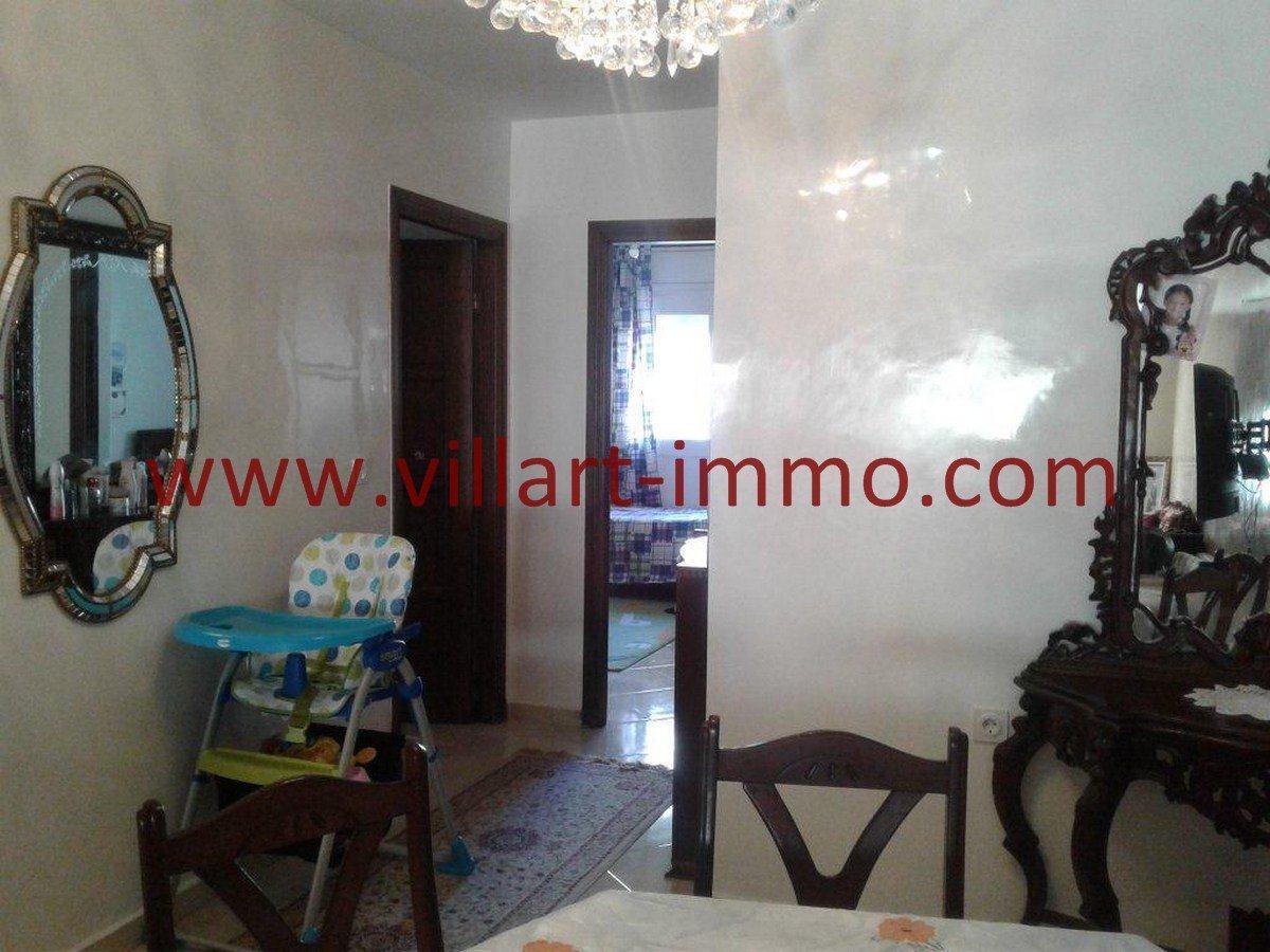 2-Vente-Appartement-Centre Ville-Tanger-Entrée -VA544-Villart Immo