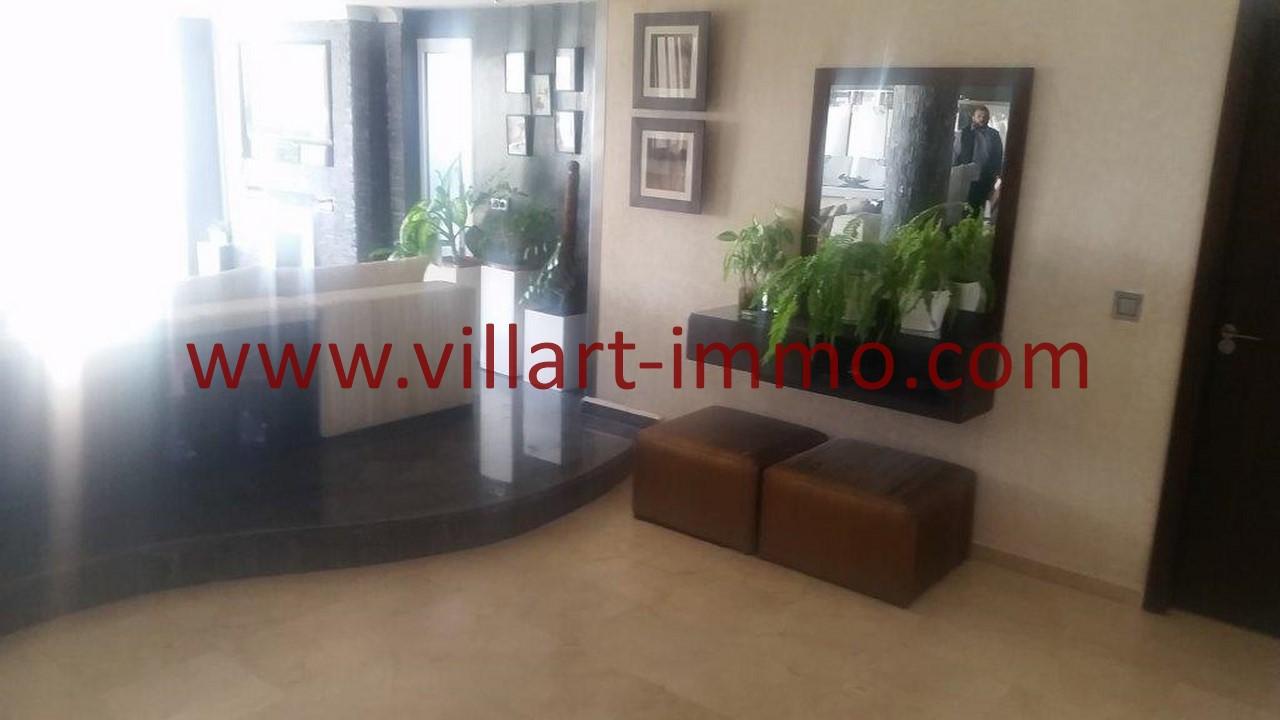 22-Location-Villa-Meublée-Tanger-Tanja Balia-Palier appartement-LV1092