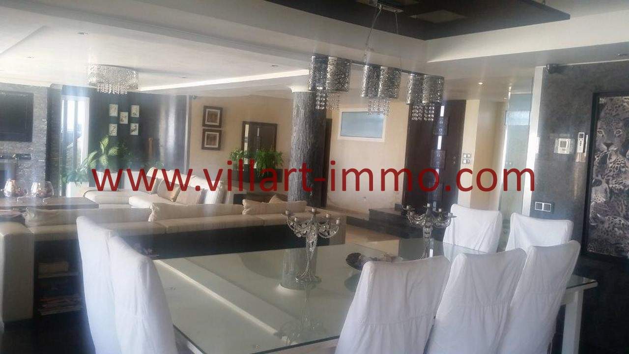 A louer superbe appartement villa tr s bien meubl tanja bahia tanger villart - Appartement meuble a louer a tanger ...