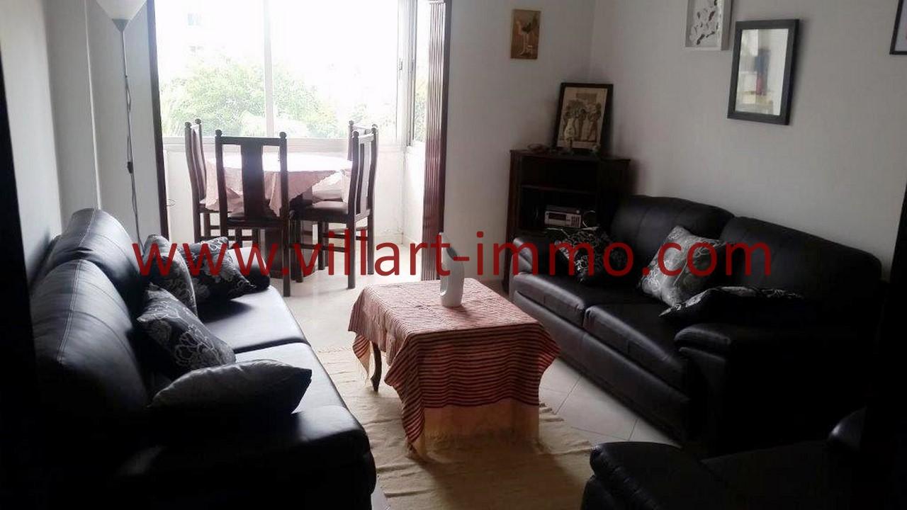 4-Location-Tanger-Appartement-Meublé-Centre ville-Séjour-L1096