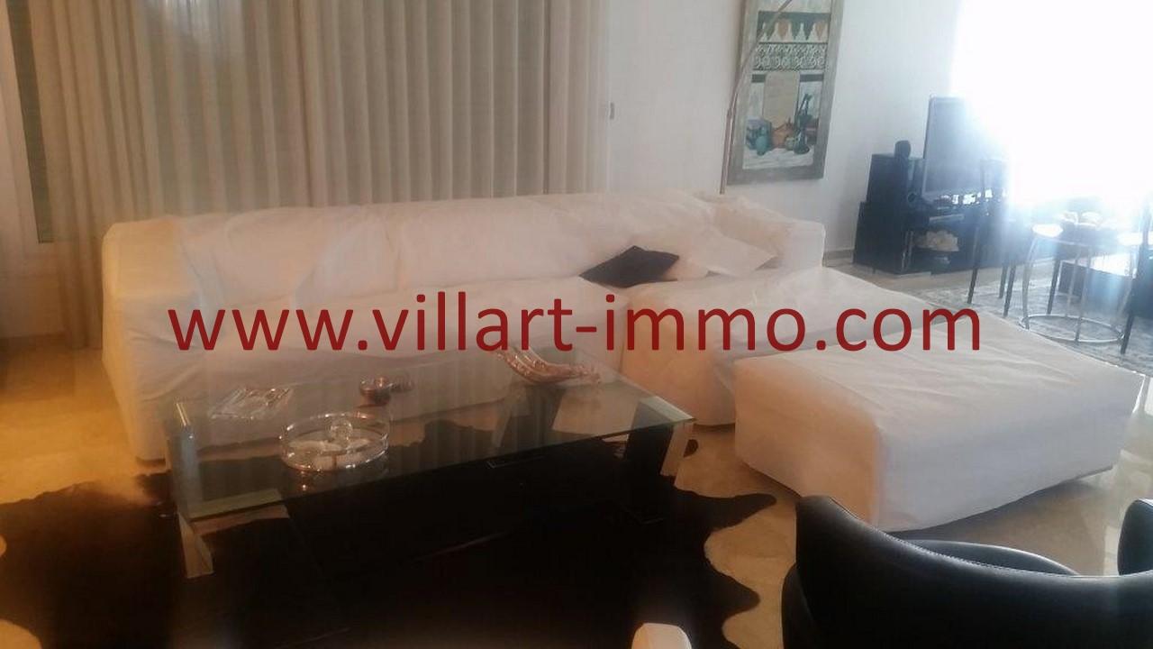 6-Location-Villa-Meublée-Tanger-Tanja Balia-Salon-LV1092