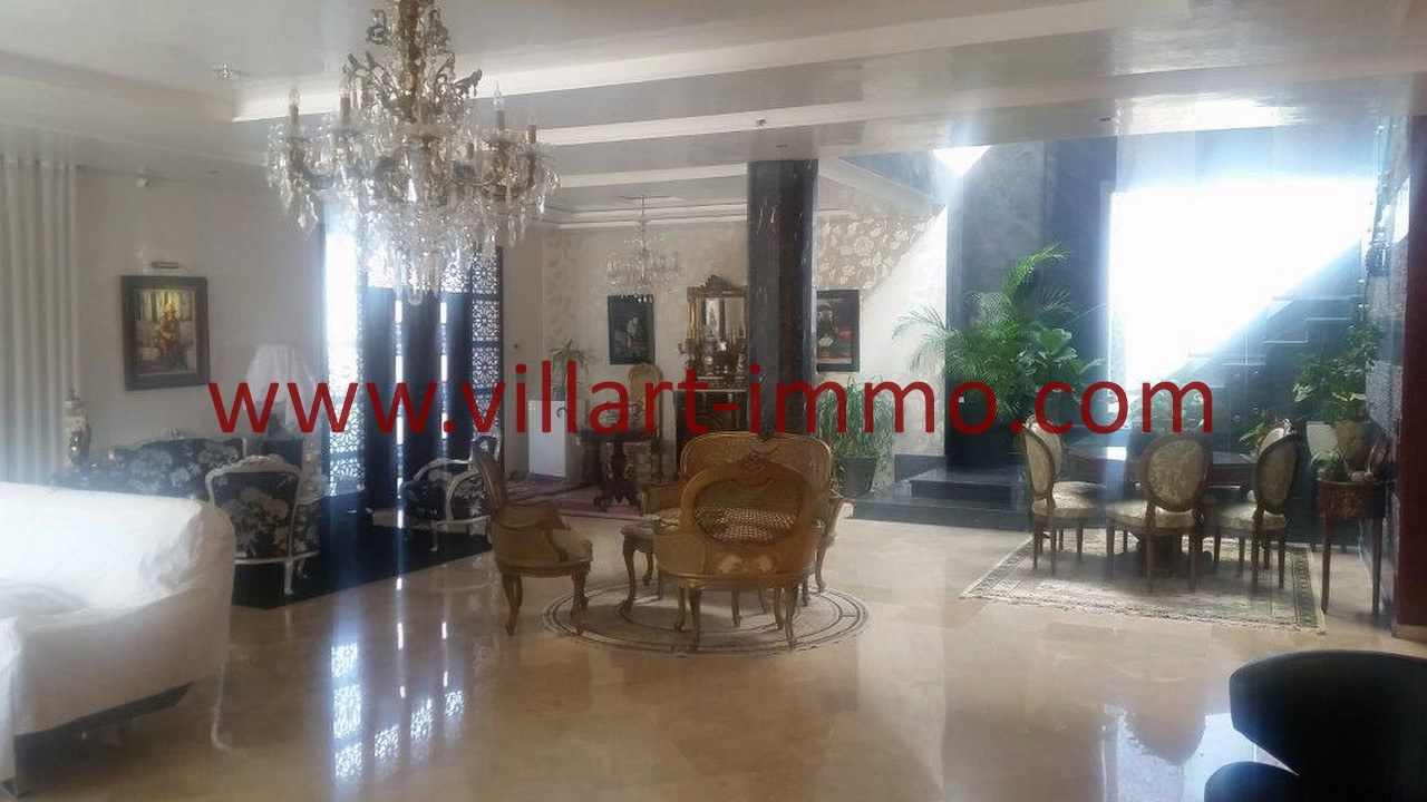 7-Location-Villa-Meublée-Tanger-Tanja Balia-Salle à manger-LV1092