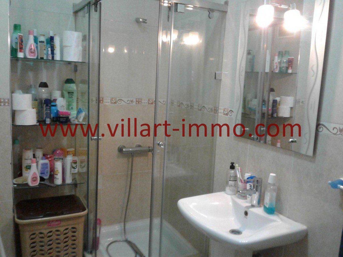 8-Vente-Appartement-Centre Ville-Tanger-Salle de bain 1 -VA544-Villart Immo