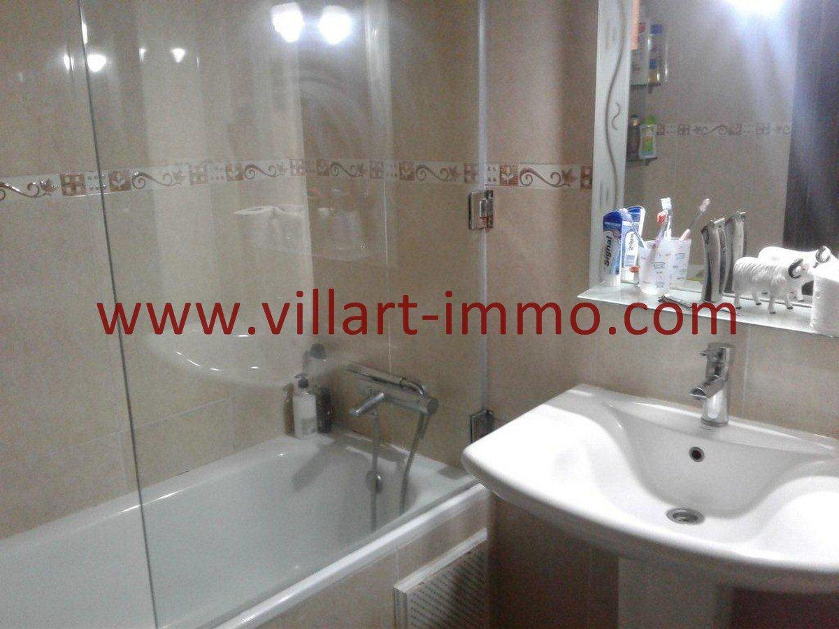 9-Vente-Appartement-Centre Ville-Tanger-Salle de bain 2 -VA544-Villart Immo