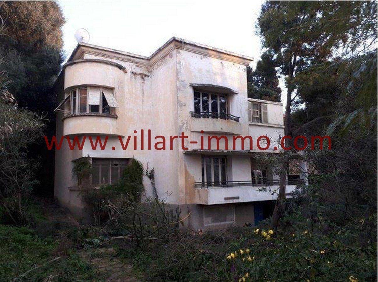 2-Vente-Villa-Tanger-Charf-Façade 2-VV549-Villart Immo