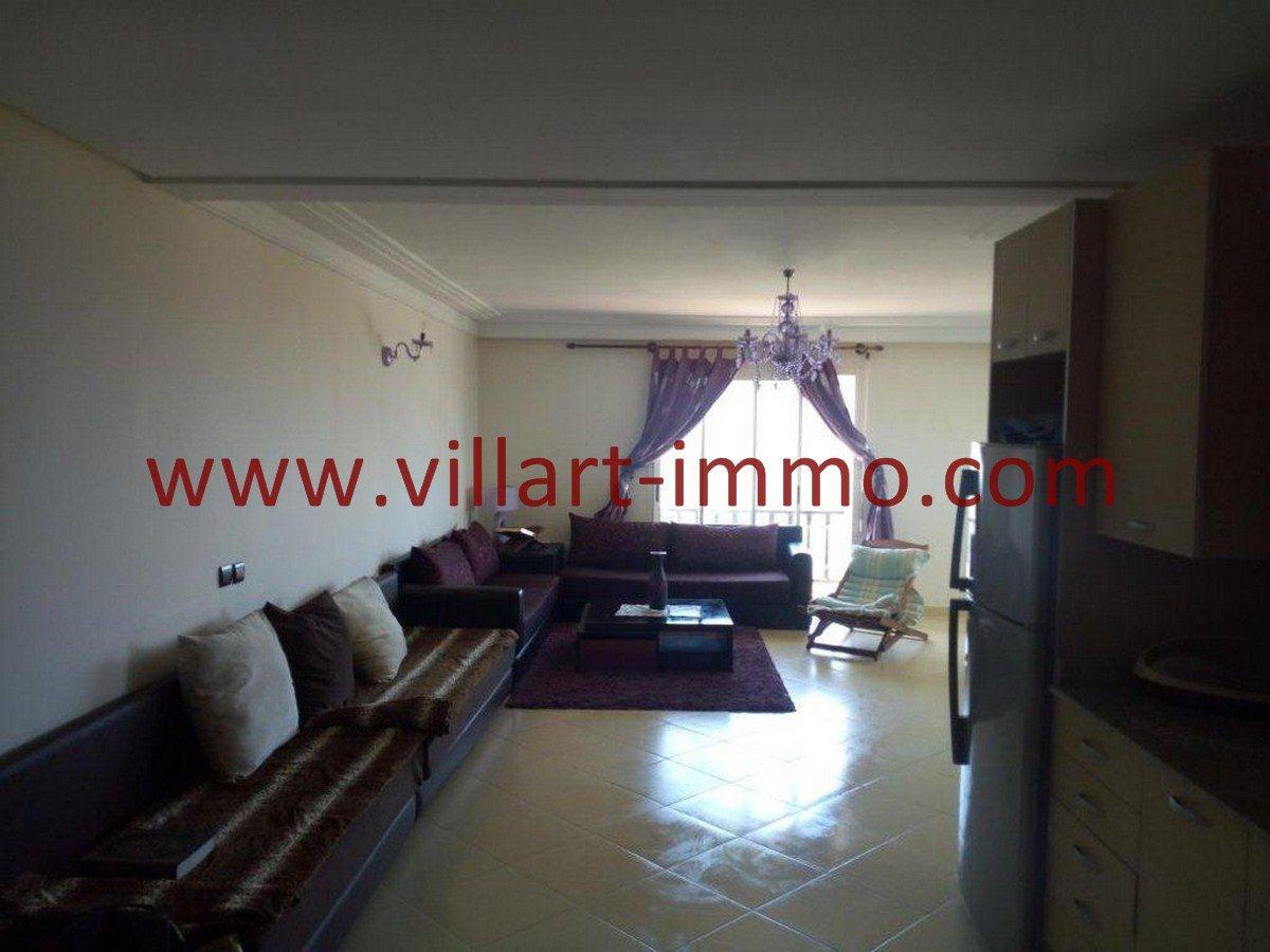 4-Vente-Appartement-Assilah-Salon -VA550-Villart Immo