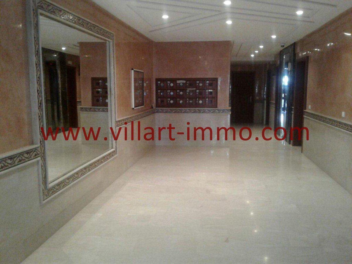 1-Vente-Appartement-Tanger-Centre ville-Entrée-VA555-Villart Immo