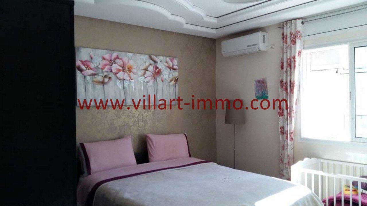 5-Vente-Appartement-Tanger-Centre ville-Chambre à Coucher 2-VA555-Villart Immo