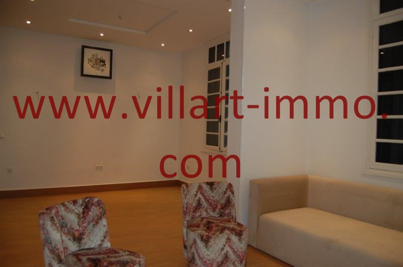 1-A louer-Appart-non meublé-Tanger- Salon-Séjour L1086-Villart immo Maroc