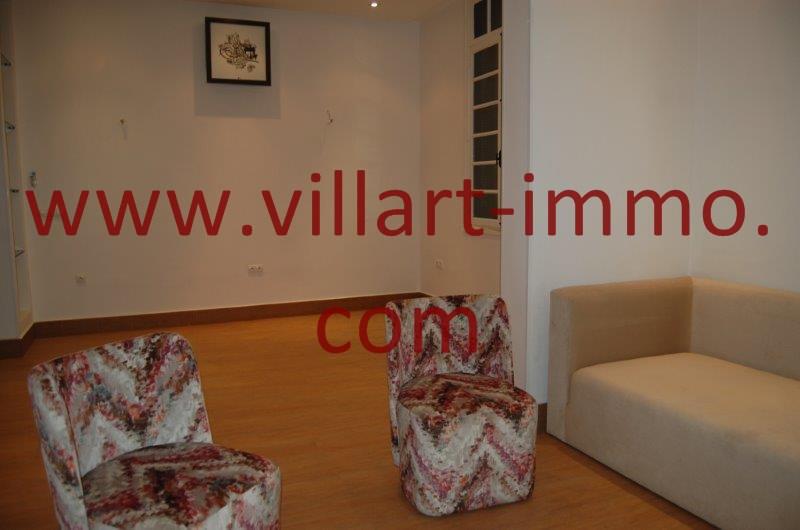 2-A louer-Appart-non meublé-Tanger-Salon'-Séjour L1086-Villart immo Maroc