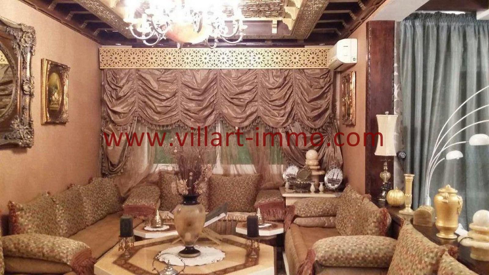 2-Vente-Appartement-Tanger-Salon-VA560-Villart Immo