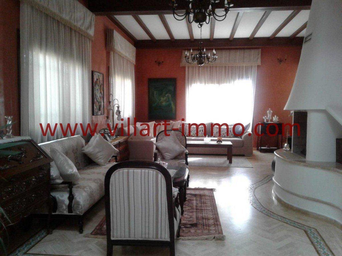 3-Vente-Villa-Tanger-Salon 2-VV561-Villart Immo
