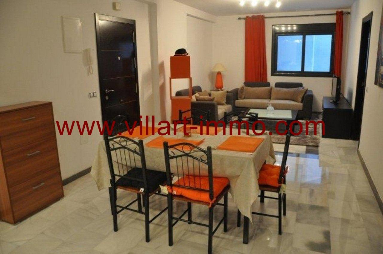 3-Vente-Appartement-Tanger-Salon 3-VA563-Villart Immo
