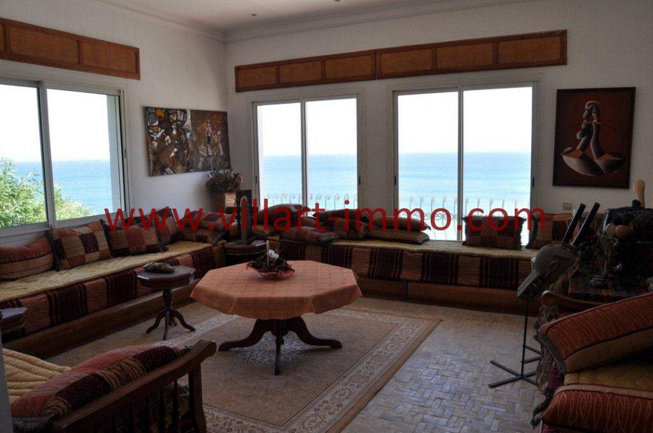 7-Vente-Villa-Tanger-Playa blanca-Salon -VV551-Villart Immo